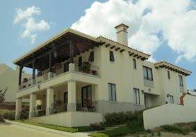 Esta es la casa de Reynoso, cuyo valor, según la Cicig, no corresponde a sus ingresos.