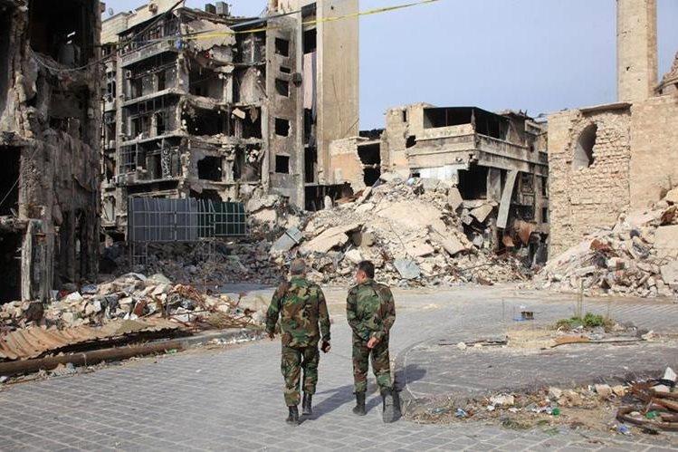 Siria es desde hace más de cuatro años escenario de un conflicto que ha ocasionado más de 250 mil muertos. (Foto Prensa Libre: AFP).