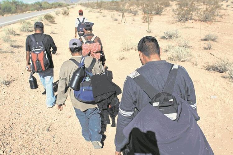 Migrantes indocumentados tienen un 44 por ciento menos de probabilidades de estar encarcelados que los estadounidenses nativos. (Foto Prensa Libre: HemerotecaPL)