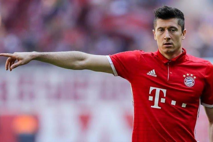Robert Lewandowski asegura que no ha tenido ningún contacto con el Real Madrid. (Foto Hemerotoca PL).