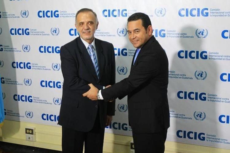 Guatemala exige al jefe de Cicig no injerir en asuntos internos