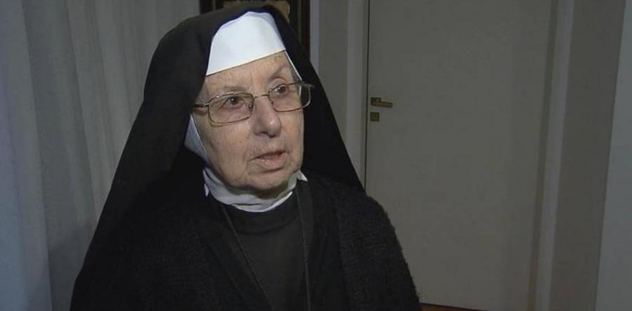 La hermana Celia Inés Aparicio será investigada por ocultar dinero. (Foto Prensa Libre: Canal Telefé)