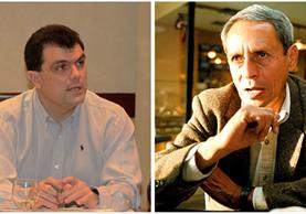 Gerardo Paiz Bonifasi y Jorge Roldán Popol no podrán participar en las elecciones de la Fedefut. (Foto Prensa Libre: Hemeroteca PL)