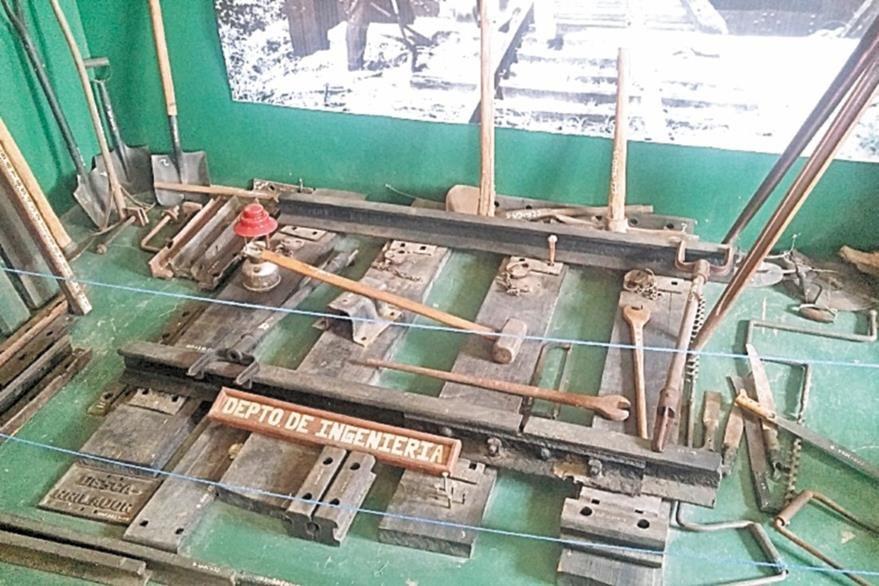 El Museo del Ferrocarril fue acondicionado por los trabajadores y ahí se muestran piezas de hace más de un siglo.