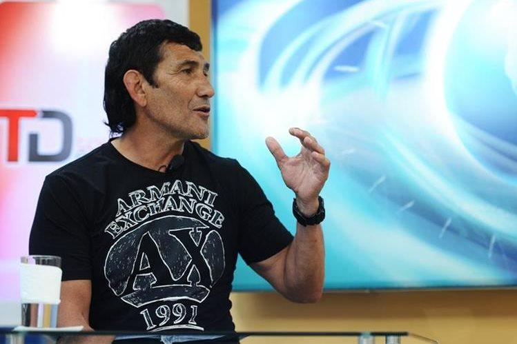 Omar Pelayes, durante La Entrevista Tododeportes. (Foto Prensa Libre: Hemeroteca PL)