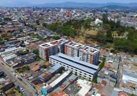 Los vecinos que viven alrededor del Cerrito del Carmen se quejan de los constantes asaltos.(Foto de Dron Prensa Libre: Álvaro Interiano)