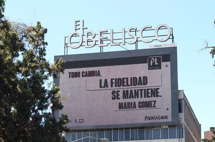 Proyecto de Prensa Libre se instaló en el Obelisco durante Pasos y Pedales para captar los deseos de los guatemaltecos.