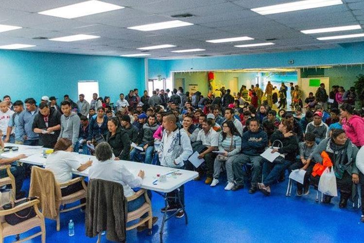En abril podrían entregar los pasaportes pendientes para EE. UU. (Foto Prensa Libre: Minex)