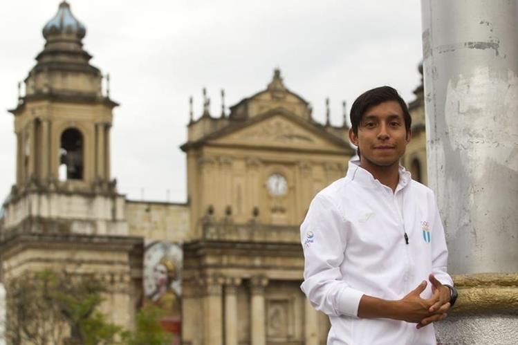 Juan Carlos Trujillo está preparado para representar con amor a Guatemala en Río. (Foto Prensa Libre: Norvin Mendoza)