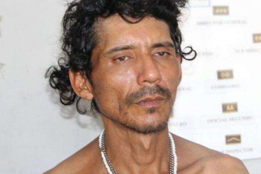 William Alberto Campos fue detenido cuando pretendía cometer un robo. (Foto Prensa Libre: PNC).