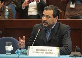 César Calderón, presentó un recurso de amparo en contra de la Comisión Pesquisidora. (Foto Prensa Libre: Hemeroteca PL)