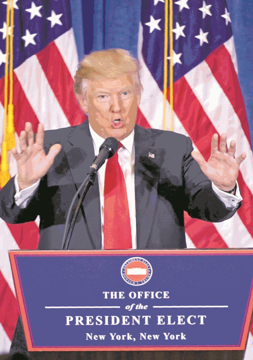Donald Trump, presidente de Estados Unidos (Foto: Hemeroteca PL)
