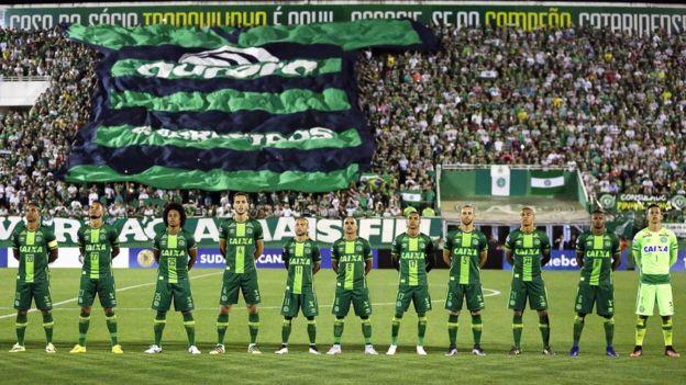 Los jugadores del Chapecoense fallecidos siempre serán recordados como héroes por su afición. (Foto Prensa Libre: Hemeroteca)