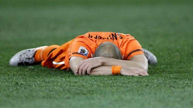 Holanda ha perdido tres finales en los mundiales de futbol. (Getty Images)