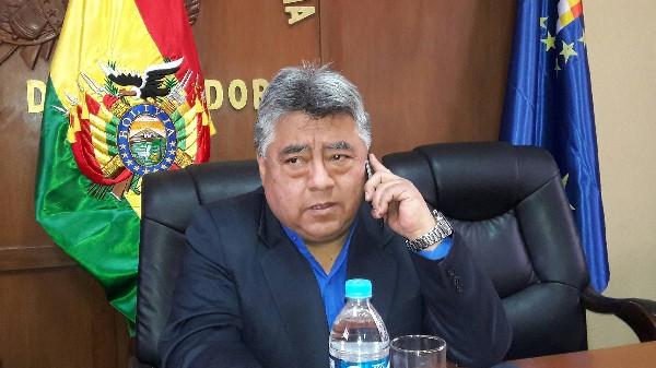 Rodolfo Illanes fue asesinado durante la  protesta minera en Bolivia. (EFE).