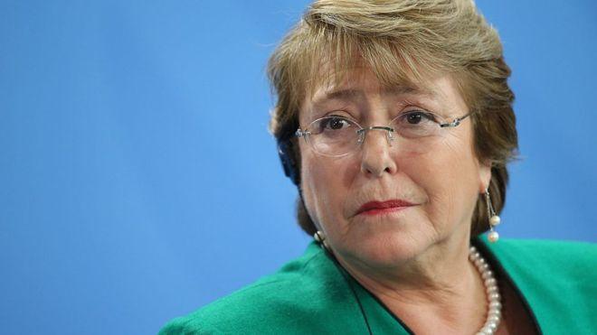"""La presidenta Michelle Bachelet dijo que solicitaría una """"completa investigación"""" sobre el índice Doing Business del Banco Mundial. (Getty Images)."""