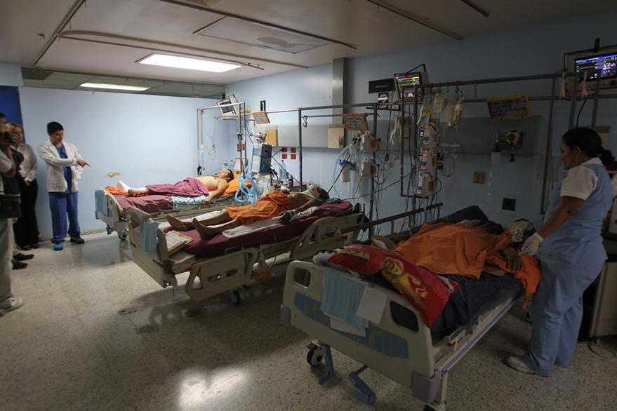 La emergencia del Hospital San Juan de Dios necesita mejoras. (Foto Prensa Libre: Hemeroteca PL)