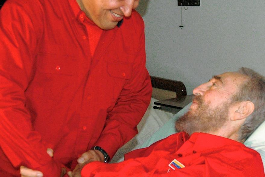 Hugo Chávez era fiel amigo del líder cubano Fidel Castro. (Foto Prensa Libre: Hemeroteca PL).