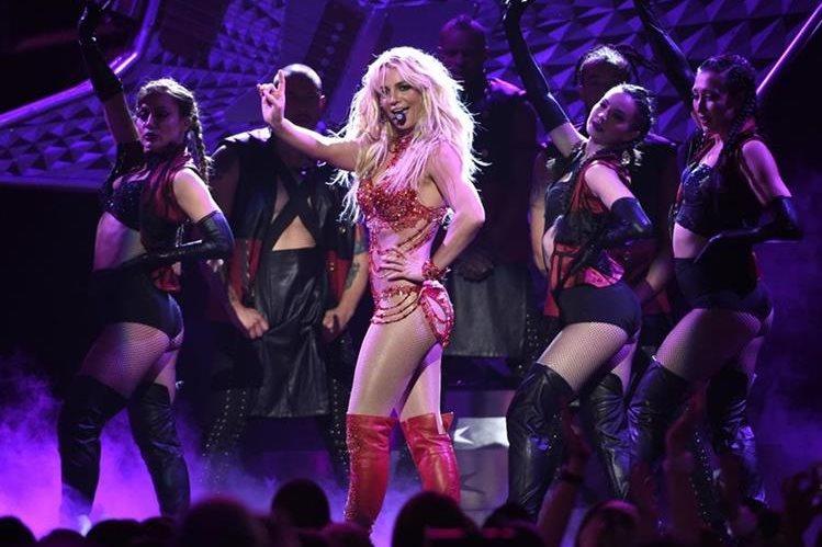 Britney Spears tendrá una película para televisión. (Foto Prensa Libre: AP)
