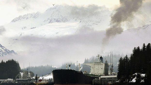Alaska tiene cuantiosas reservas petroleras. GETTY IMAGES