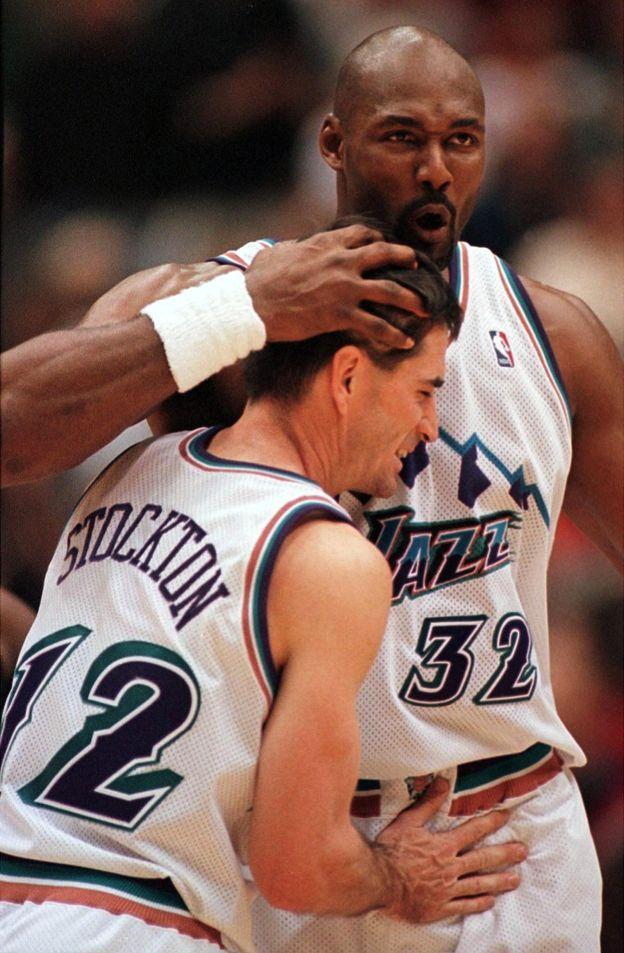 El mejor en asistencia y el segundo mejor anotado de la historia de la NBA nunca pudieron lucir el anillo de campeón. (Getty Images)