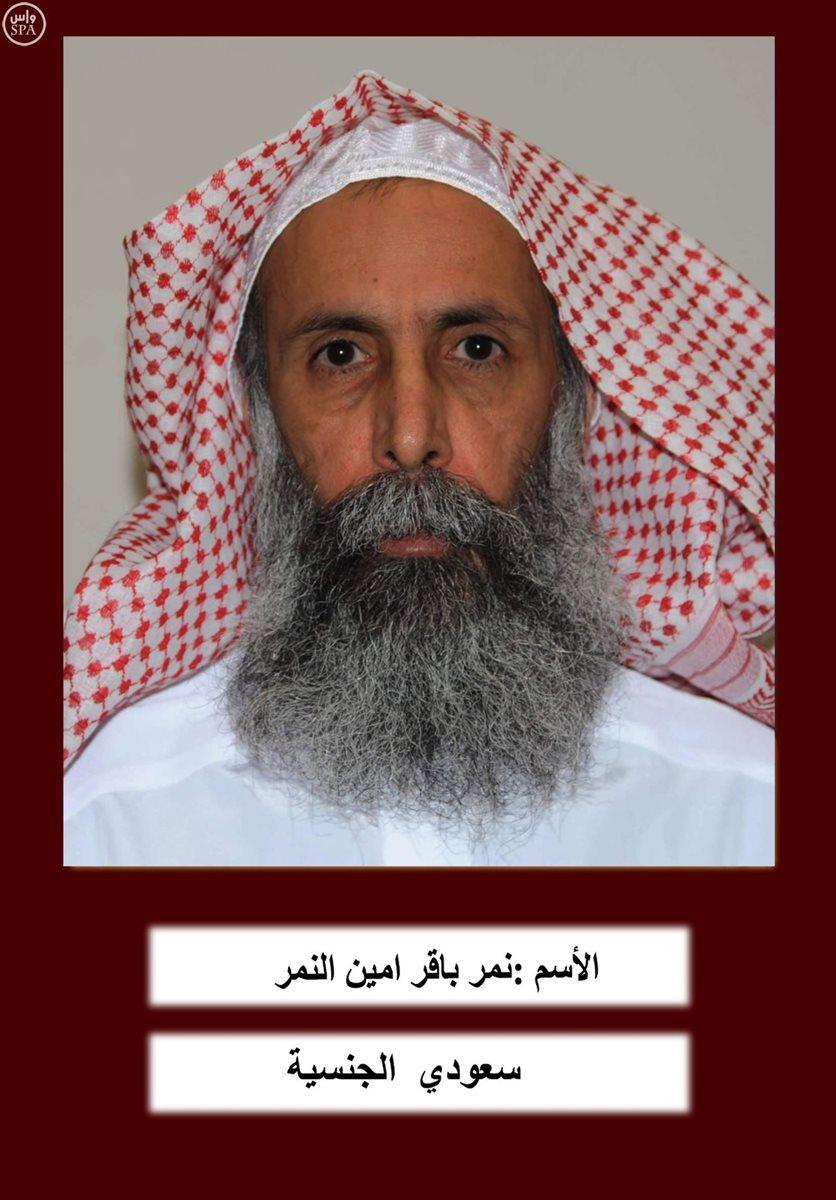 El líder chií, Nimr al-Nimr, quen fue ejecutado este sábado por Arabia Saudí, lo cual ha levantado una ola de indignación en la comunidad de la cual era líder. (Foto Prensa Libre: AFP).
