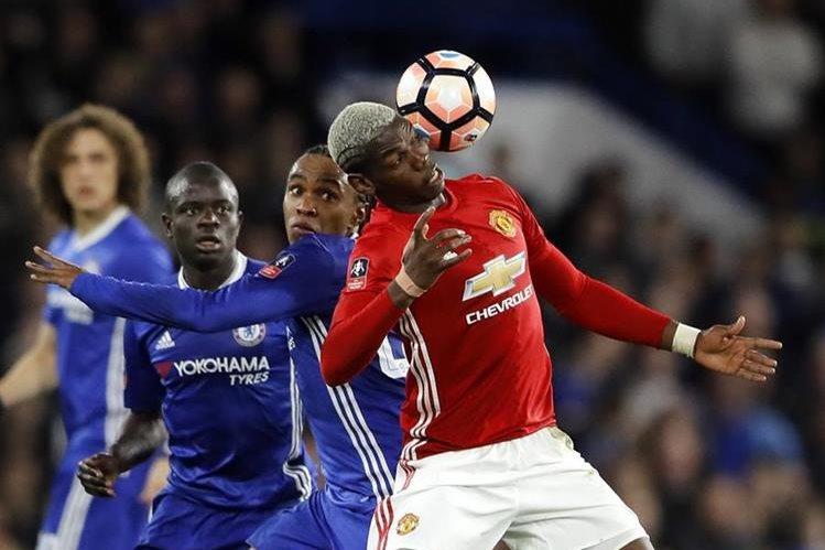 Paul Pogba se unió al Mánchester United en la presente temporada, luego de una transferencia que costó 105 millones de euros. (Foto Prensa Libre: AP).