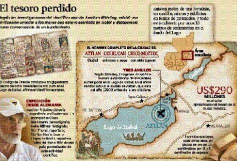 Científico cree que estructuras en el Lago de Izabal datan de miles de años antes de Cristo.