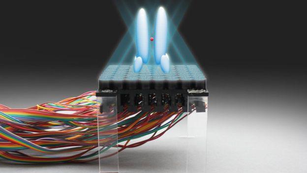 Una red de altavoces ayuda a mover objetos con ultrasonido (ASIER MARZO/BRUCE DRINKWATER/SRIRAM SUBRAMANIAN)