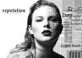 """La portada de """"Reputation"""", el primer disco de Swift desde """"1989"""" lanzado en 2014 (Foto Prensa Libre: Twitter)."""