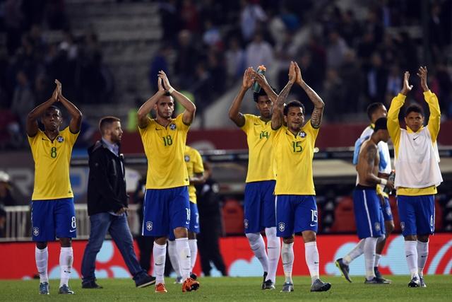 Brasil terminó con un empate en el duelo ante Argentina del viernes. (Foto Prensa Libre: EFE)