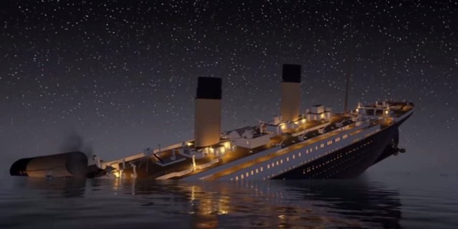 Una recreación muestra detalles y momentos claves que provocaron el hundimiento del Titanic en 1912.