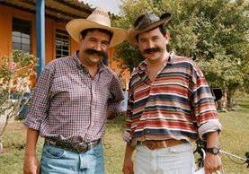 Moralejas es el nombre del programa de televisión que crearon Jimmy y Sammy Morales. (Foto Prensa Libre: Hemeroteca PL).