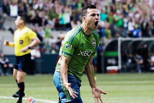 Pappa sigue enrachado con el gol y volvió a ser vital para el Seattle. (Foto Prensa Libre: Seattle Sounders/Facebook)