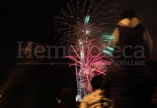 Festival de luces Campero del año 2014. (Foto: Hemeroteca PL)