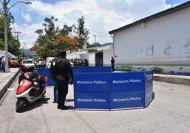En esta área fue el accidente de tránsito que se cobró la vida de la estudiante de Comunicación. (Foto Prensa Libre: Mario Morales)