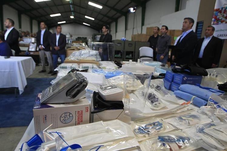 Los medicamentos y equipo comenzaron a distribuirse desde la semana pasada. (Foto Prensa Libre: Hemeroteca PL)