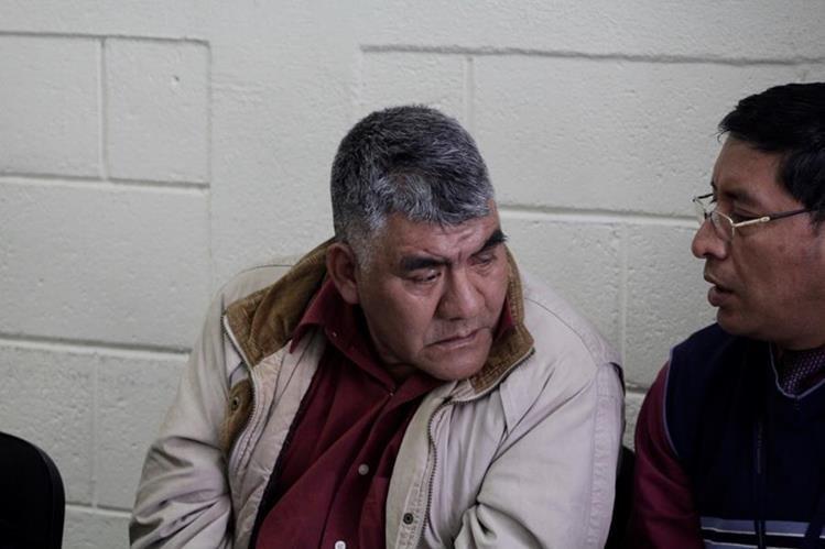 Carlos Andrés Vicente fue hallado culpable de haber dado muerte a su pareja. (Foto Prensa Libre: María José Longo).