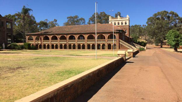 Walsh acusó a los Hermanos Cristianos en la Comisión Real Australiana en una investigación sobre abusos sexuales infantiles. CLIFFORD WALSH