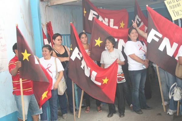 <p>Sindicalistas ocupan Área de Salud de Chiquimula en demanda de medicamentos e insumos. (Foto Prensa Libre: Edwin Paxtor)<br></p>