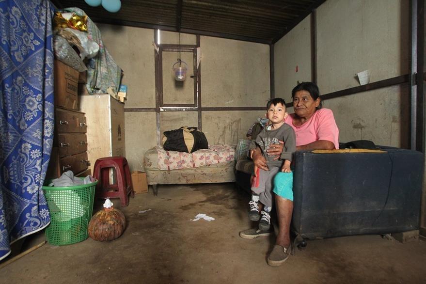 Las promesas de casa digna solo quedaron en palabras. (Foto Prensa Libre: Alvaro Interiano)