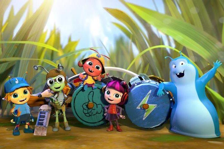 La serie animada Beat Bugs se verá a partir de esta semana en Netflix, y ya se confirmó una segunda temporada para noviembre. (Foto Prensa Libre: YouTube)