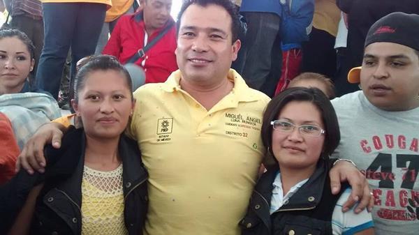 Miguel Ángel Luna, candidato asesinado. (Foto Prensa Libre: EFE)