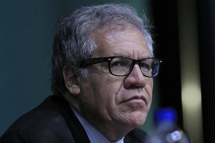 Luis Almagro, secretario general de la OEA reveló detalles de una propuesta si dejaba el cargo. (Foto Prensa Libre: EFE)