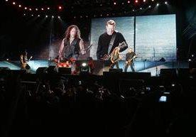 En marzo de 2010 la banda visitó Guatemala.