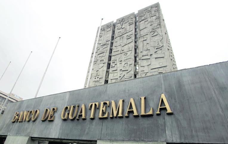 El Banco de Guatemala regula la política monetaria y crediticia del país. (Foto Prensa Libre: Hemeroteca PL)