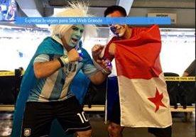 Imágenes del juego contra Panamá