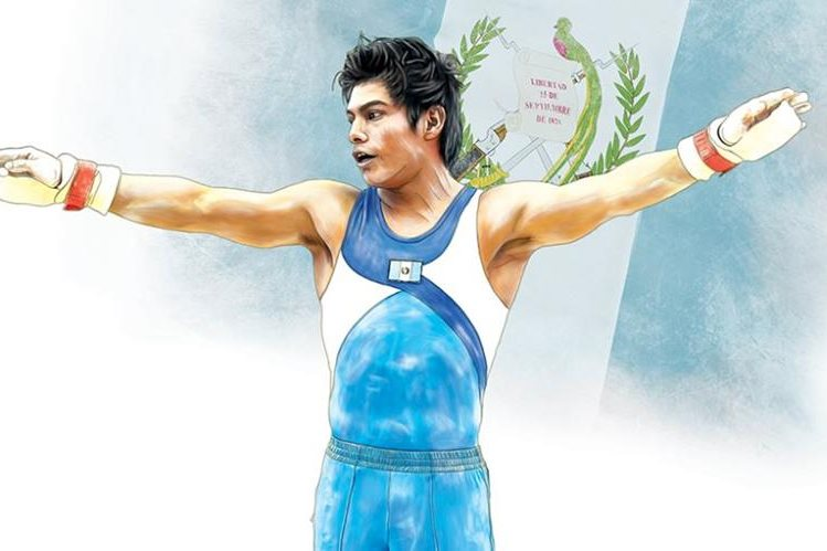 Características importantes de Jorge Vega que lo hacen un triunfador de la gimnasia a nivel internacional. (Arte Prensa Libre: Benildo Concoguá)