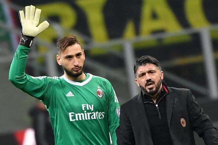 Radicales del Milan exigen a Donnarumma que se largue