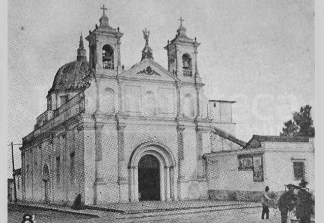 Aspecto original del Templo de Beatas de Belén. (Foto: Hemeroteca PL)